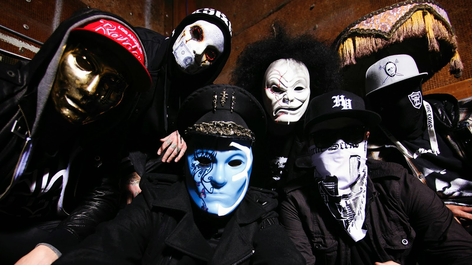 Music Wallpapers Hollywood Undead Wallpaper