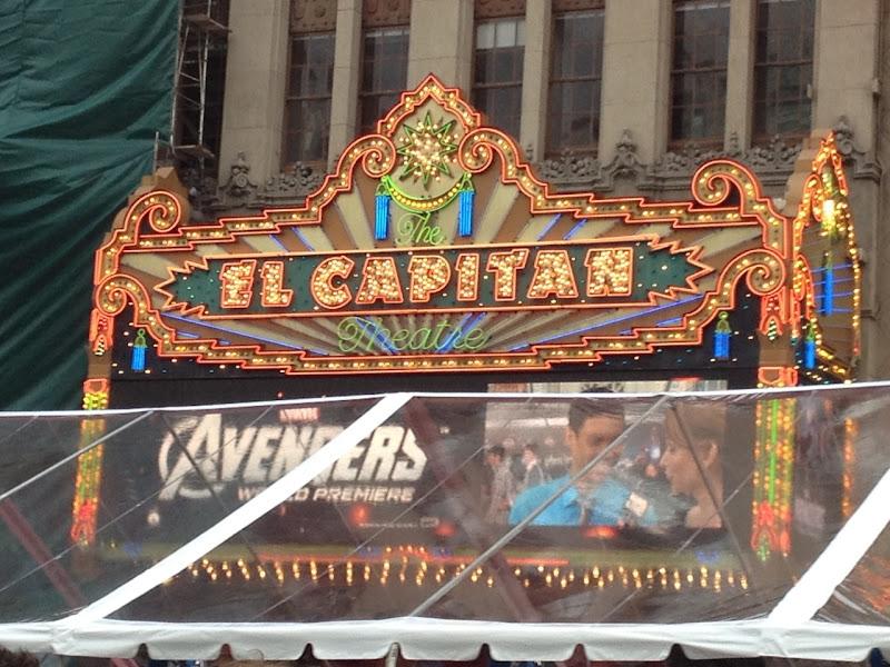 Avengers Premiere El Capitan Theatre