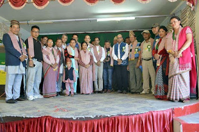 Mirik Unit Gorkha Janmukti Morcha (GJM) Celebrates 9th Foundation Day
