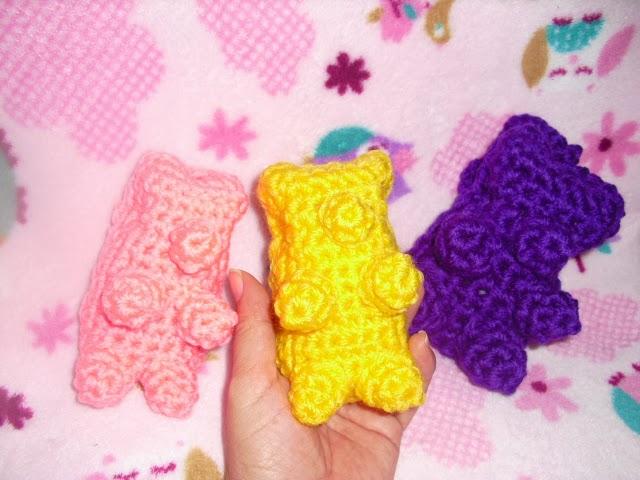 Amigurumi Gummy Bear : Ana y el ganchillo: OSITOS GOMINOLAS - GUMMY BEARS