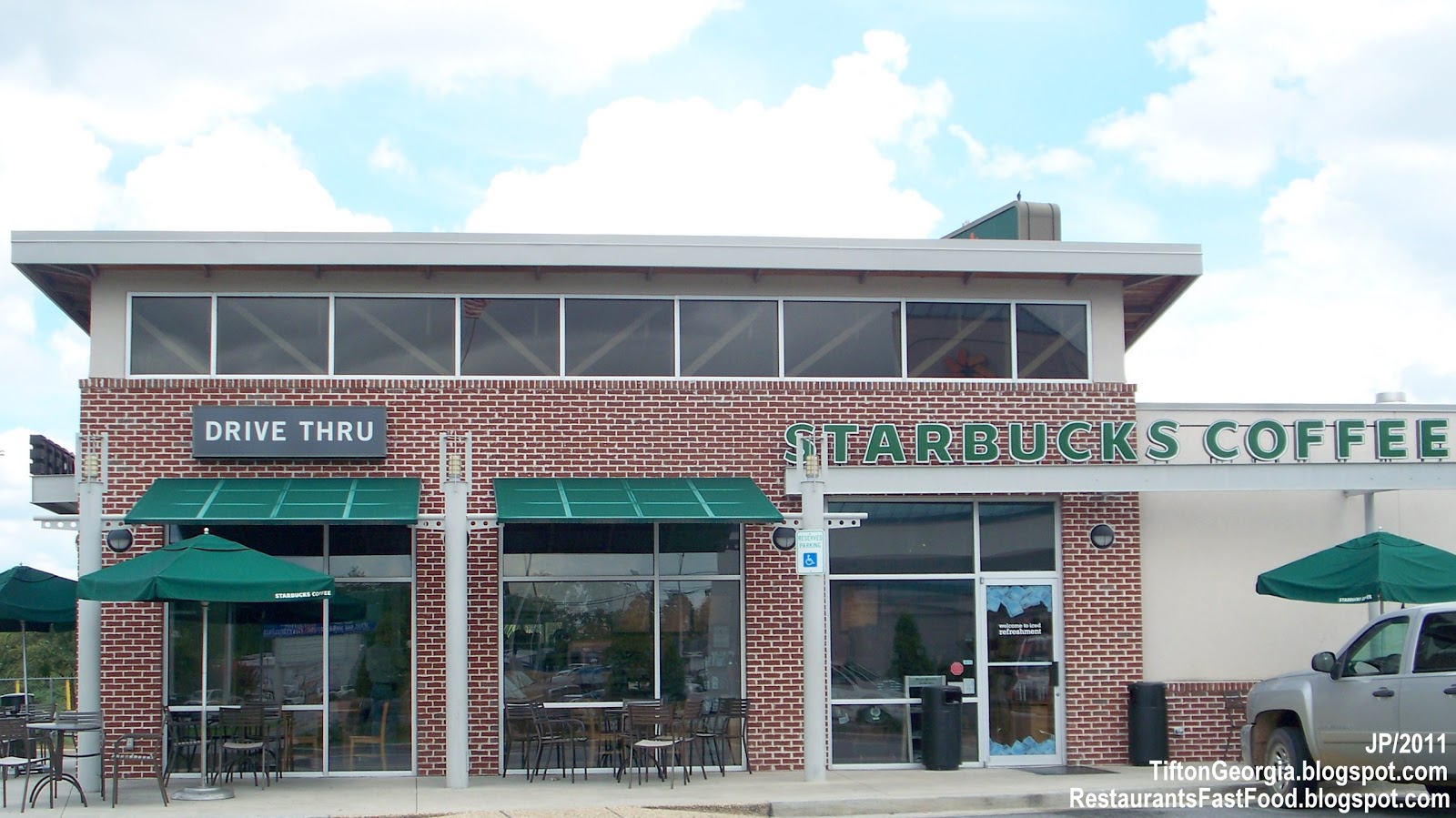Starbucks Coffee Tifton Georgia Hwy 82 I 75 Espresso Restaurant Ga