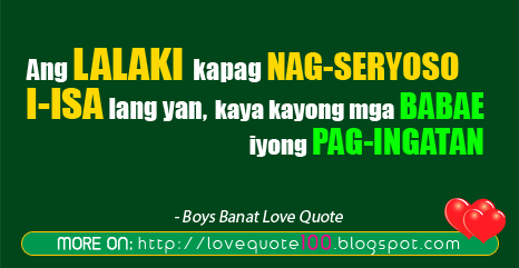 1000  images about Boy Banat Tagalog Quotes on Pinterest | Quotes ...