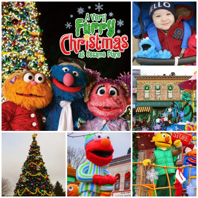 holiday family fun at sesame place a very furry christmas - Furry Christmas
