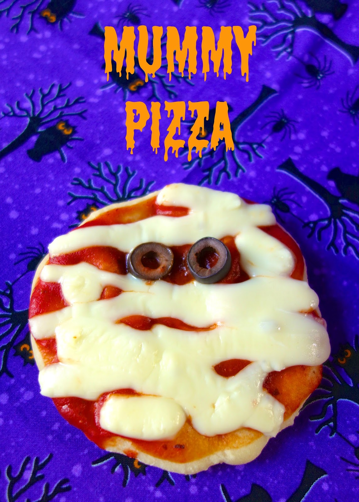 mummy pizza bites