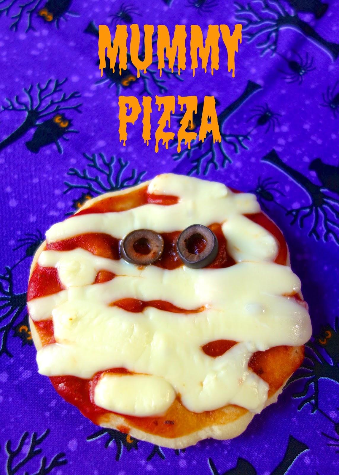 mummy pizza bites