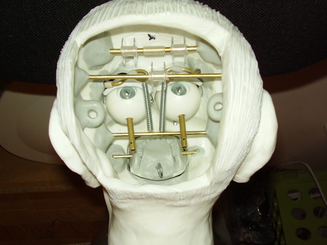 how to build a ventriloquist dummy head