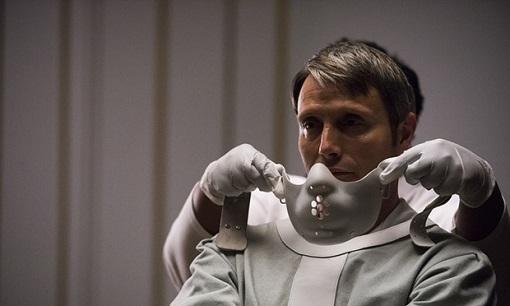 Madds Mikkelsen en Hannibal (NBC).