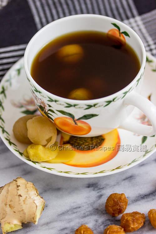 黑糖桂圓薑茶 【寧神補身】 Brown Sugar Ginger Tea