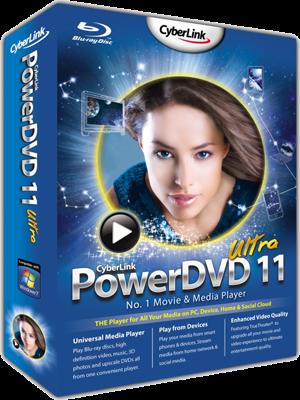Cyberlink Power DVD 11 Ultra | Full Version | 87.59 MB