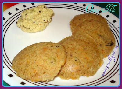 instant oats idli / oats indian recipes / simple and quick diabetes diet