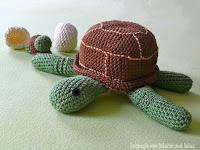 Amigurumi Schildkröte