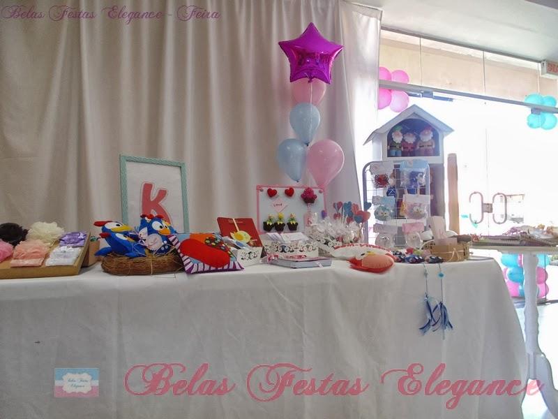 Aparadores Vintage El Corte Ingles ~ BELAS FESTAS ELEGANCE Ornamentaç u00e3o do stand da feira de artesanato de Joinville