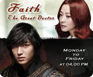 Drama Korea Faith (The Great Doctor) di Indosiar