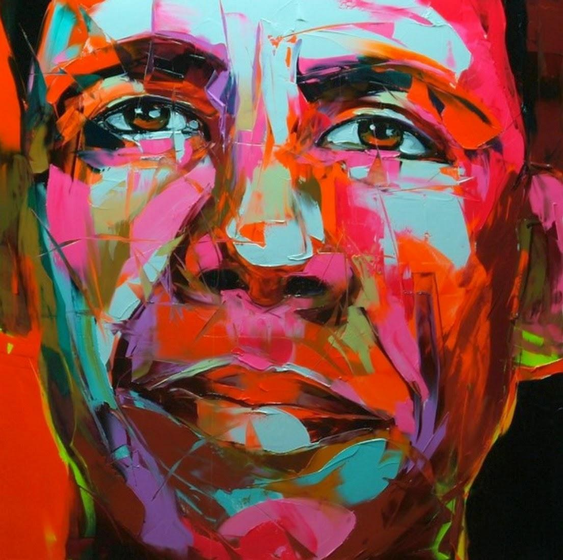retratos-artisticos-con-oleo-y-espatula