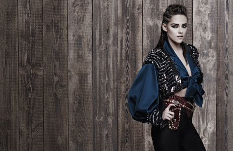 Kristen Stewart by Karl Lagerfeld for Chanel Pre-Fall 2014