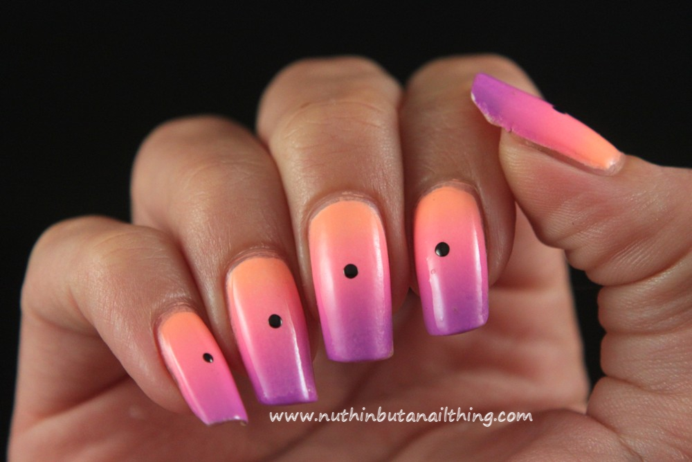 Nuthin But A Nail Thing Swirly Polka Dots Tutorial