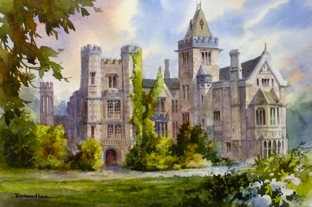 Roland Lee Travel Sketchbook Learn To Paint English