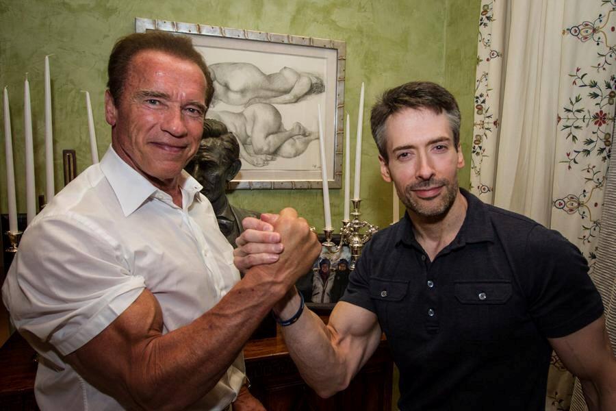 STRENGTH FIGHTER™: Arnold Schwarzenegger is back in shape