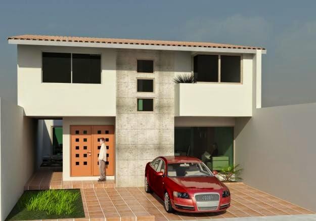 Fachadas de casas modernas fachadas de casas modernas for Fachadas de ventanas para casas modernas