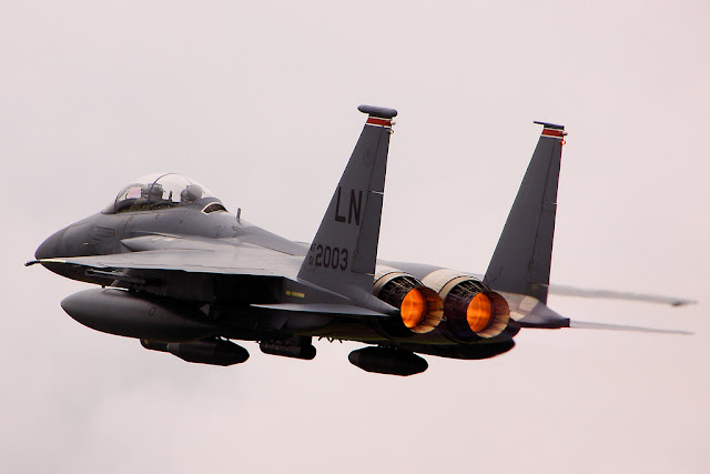 F-15 Strike Eagle afterburner