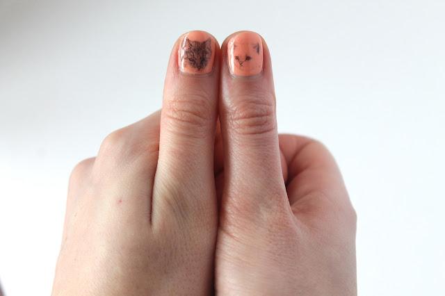 kitten nail transfers