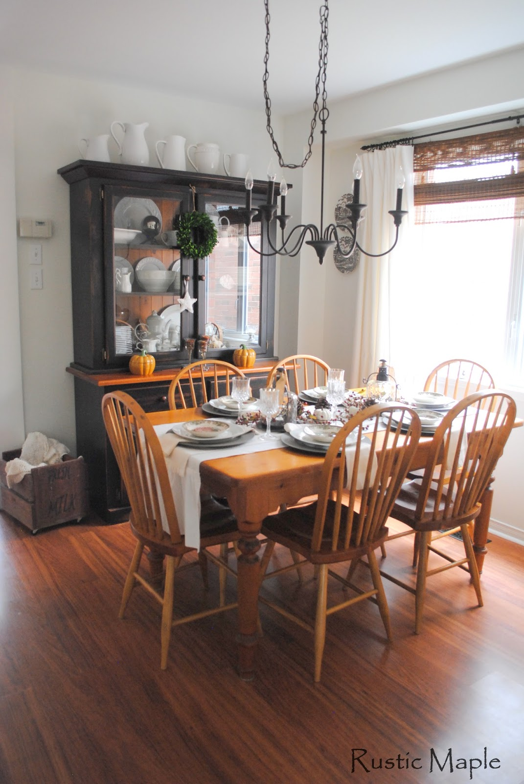 Neutral Fall Dining Room Tour