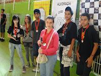 Campeões do xadrez JERGS etapa municipal