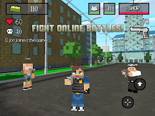 BLOCK WARS - Mine Mini Shooter Apk