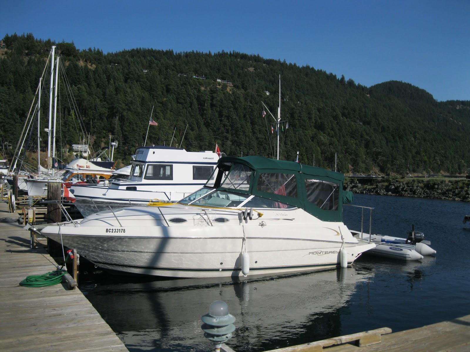 Monterey 242 boat names