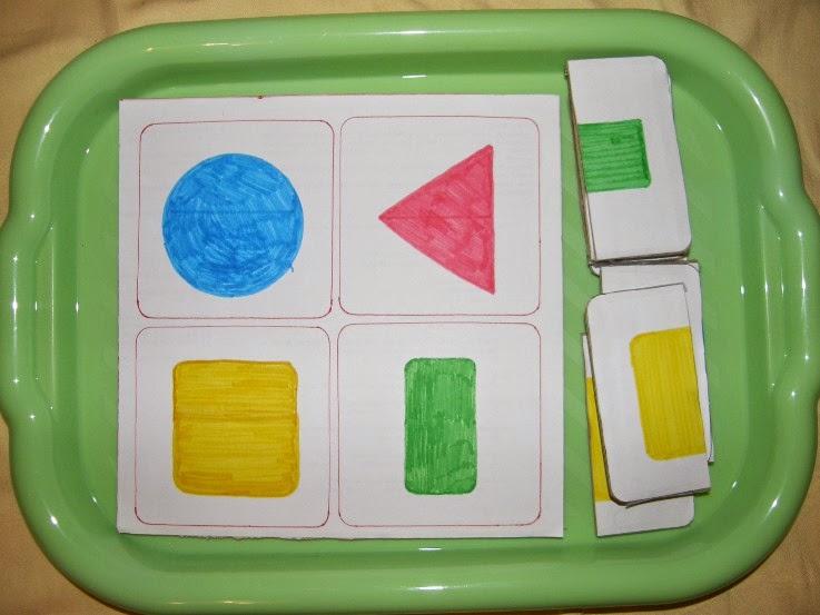 metoda montessori, hand made pomůcka