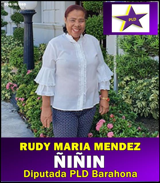 DIPUTADA RUDY MARIA MENDEZ PLD BARAHONA 2016-2020
