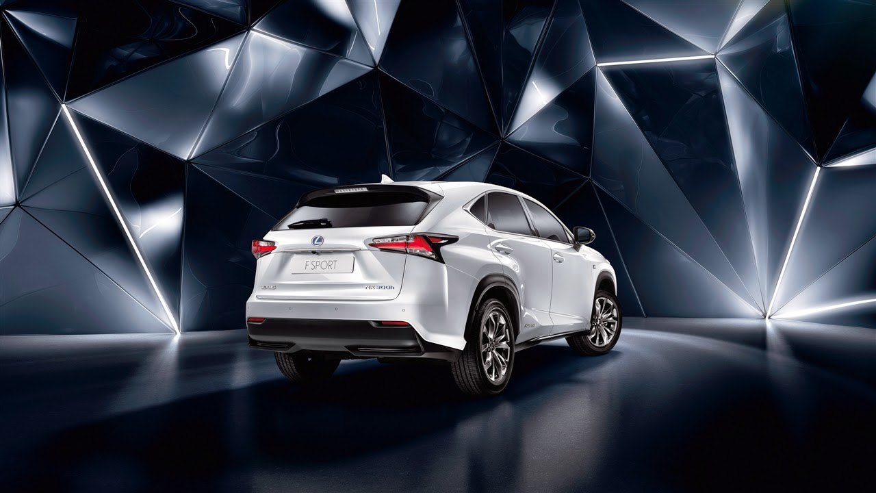Lexus NX rear view shot