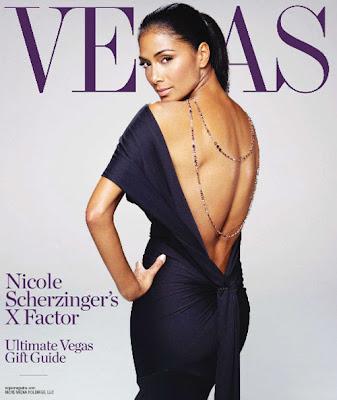 Nicole Scherzinger en couv' de Vegas