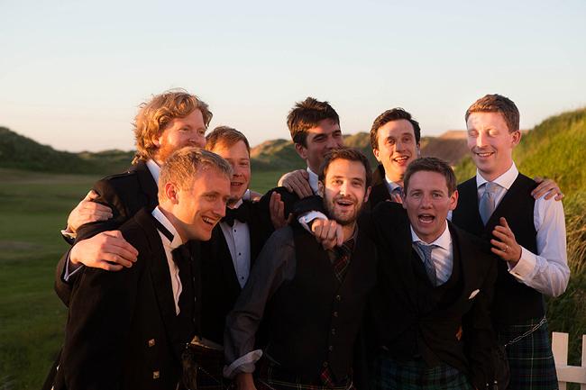 Wedding Photography Doonbeg Ireland, groomsmen