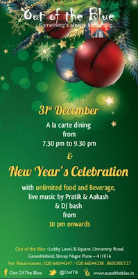 New year eve party in Pune