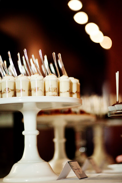 Wedding Dessert Table Banana Pudding Dessert Shooters