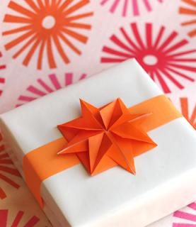 origami de estrela de natal passo a passo