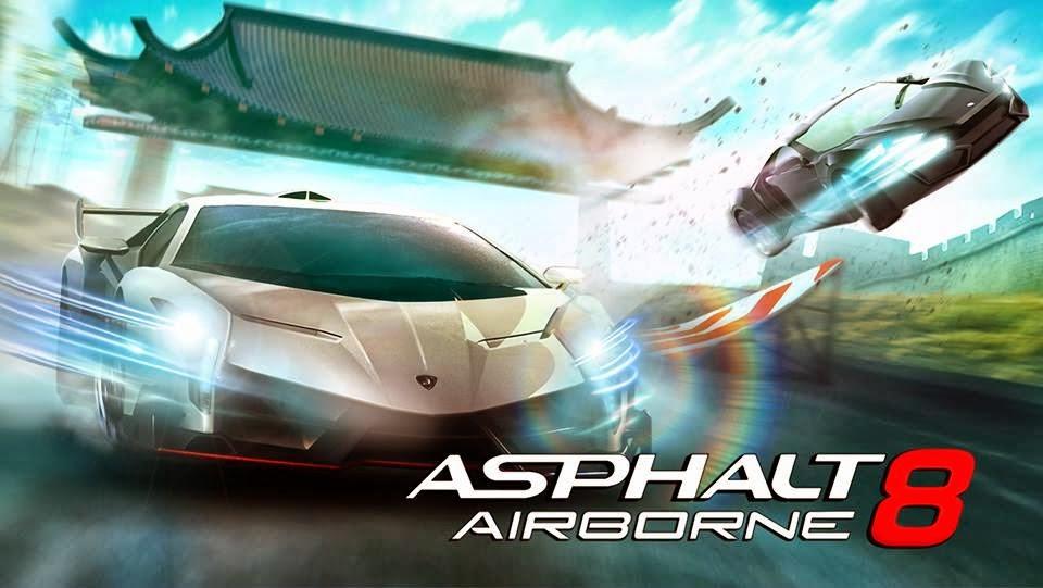 Asphalt 8 Airborne 1.3.0 MOD APK+DATA (Unlimited Money) Full Version ...