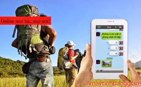 máy tính bảng Viewpad 7Q nhắn tin chạy 3G