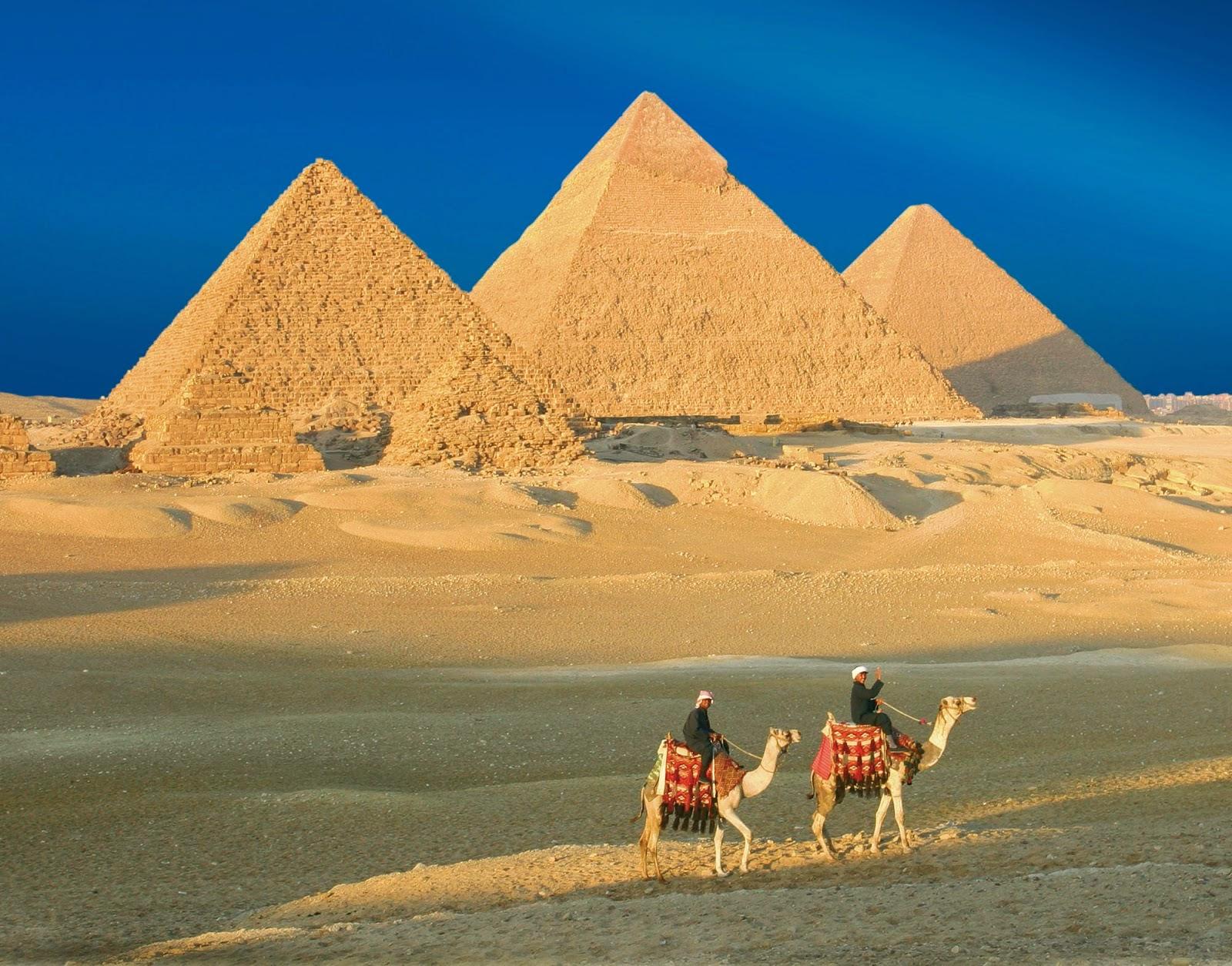 Εικονική περιήγηση στις πυραμίδες της Γκίζας