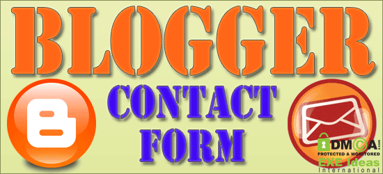 Blogger Official Contact Form For Blog Released