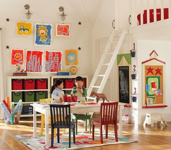 http://www.pinterest.com/wisewomanbuilds/homeschool-rooms/