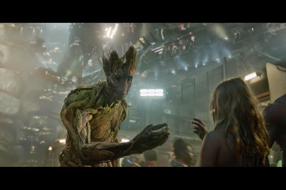 Marvel's GUARDIANS OF THE GALAXY - Meet Groot #GuardiansoftheGalaxy