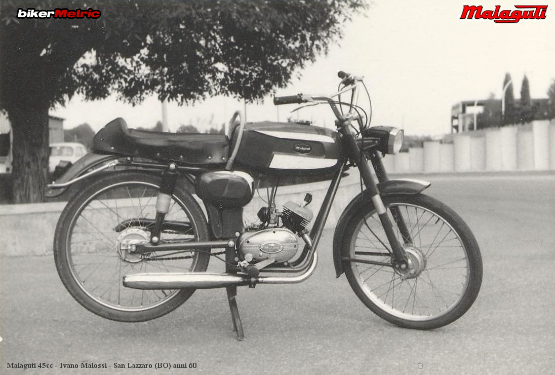 early 11970's malaguti 45cc moped