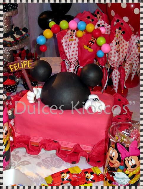 Decoracion De Un Kiosco ~   de Mickey Mouse Fiesta de Felipe 9 04 2011 Kiosco Tematico de Mickey