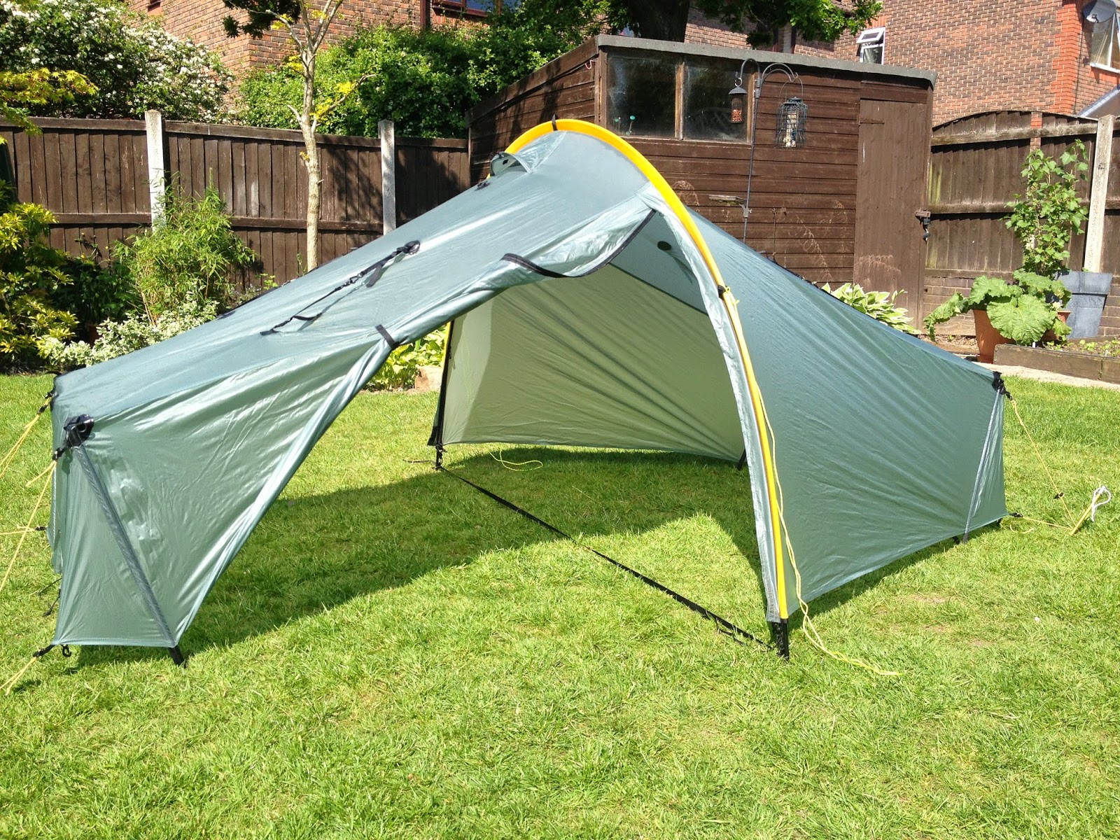 Without the inner it becomes a huge single skin shelter for 1 and perfectly usable for 2 & sdb wanderings: The Tarptent Scarp 1 Tent - An Opinion
