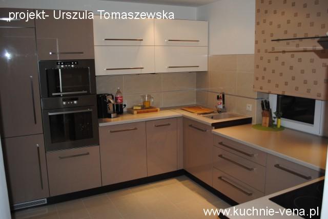 Meble kuchenne Lublin Vena w Domixie  opinie, porady, inspiracje Mała kuchn