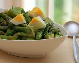 Asparagus Scallion Salad
