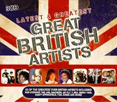 CD Latest & Greatest Great British Artists (2012)