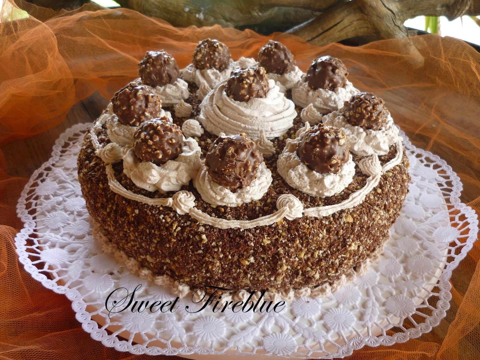 Торт ферреро роше рецепт фото пошаговый